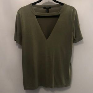 Forever 21 Army Green Tee